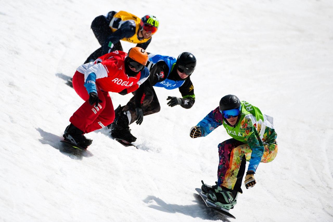 сноубординг кросс