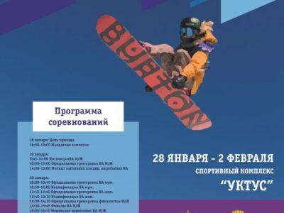 III этап Кубка России по cноуборду