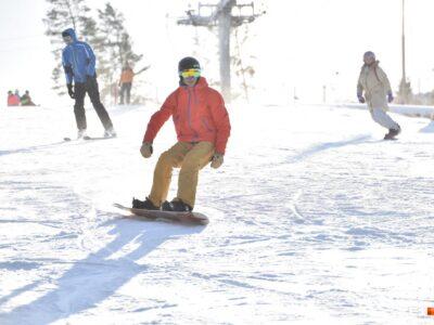 Групповые тренировки по горным лыжам и сноуборду!